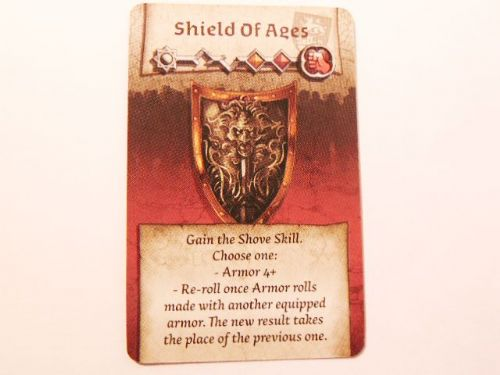 wulfsburg survivor equipment card (shield of ages)